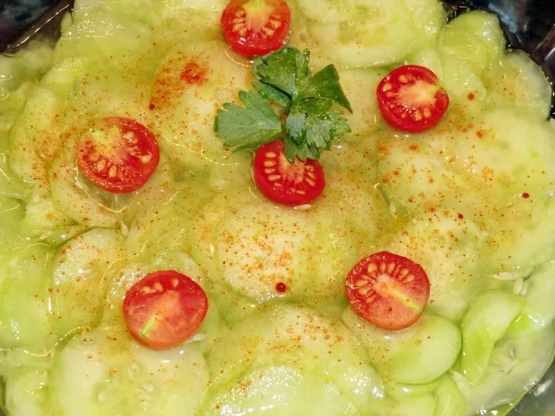 Uborkasaláta recept főfotó