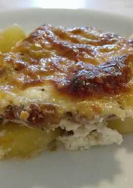 Tejfölös Krumplis Karaj