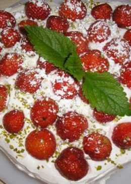 Epres-fehércsokis sajtkrémes torta