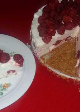Citromos joghurt torta, sütés nélkül
