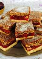 Szilvás-mogyorós pite