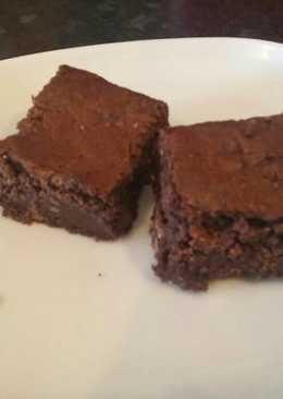 Csokoládés fudgie brownie