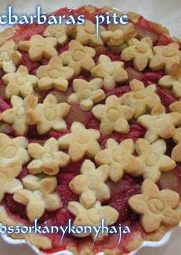Epres-rebarbarás pite (Gluténmentesen is)