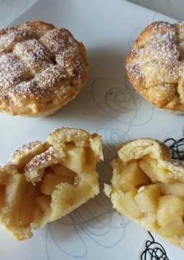 Almás pités muffin