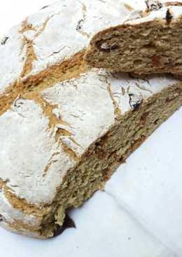 Aszalt paradicsomos, szódás kenyér