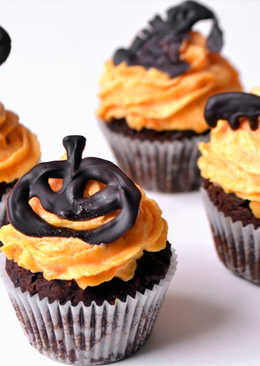 Halloween mini cupcake