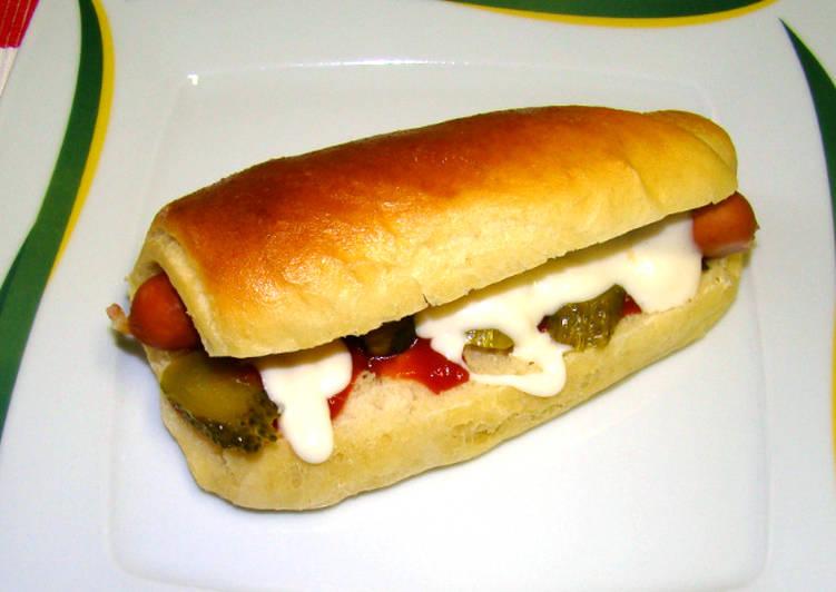 Hot-dog kifli