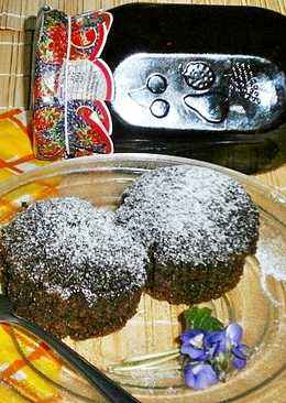 Csokis-kuszkuszos muffin