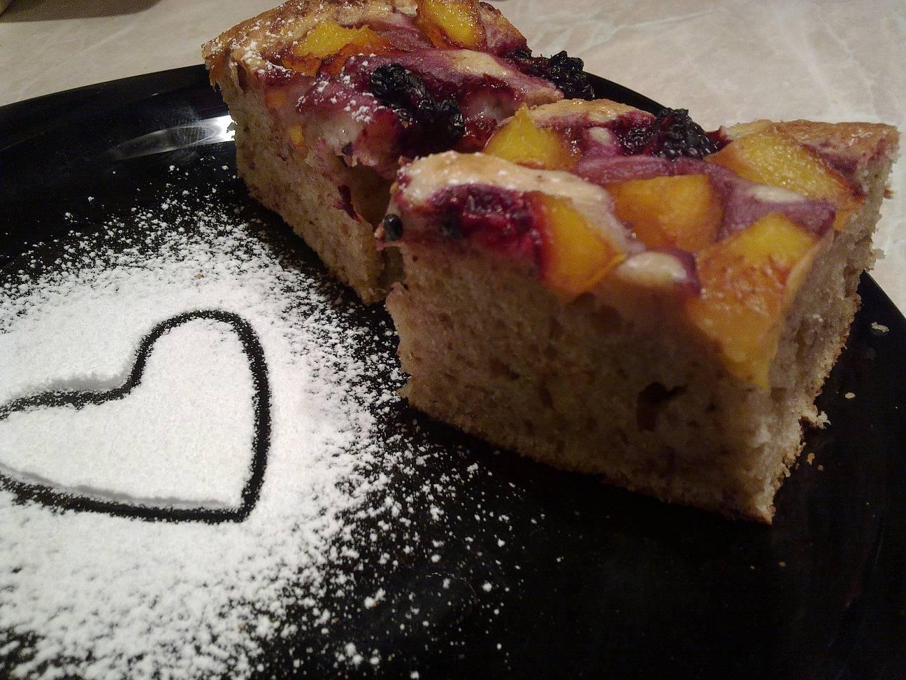 Gyümölcsös-diós kocka recept főfotó