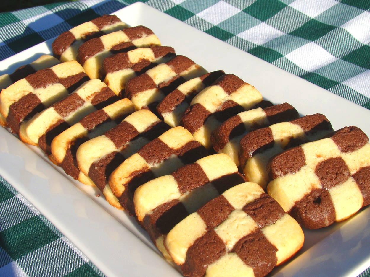 Sakktábla sütemény recept főfotó