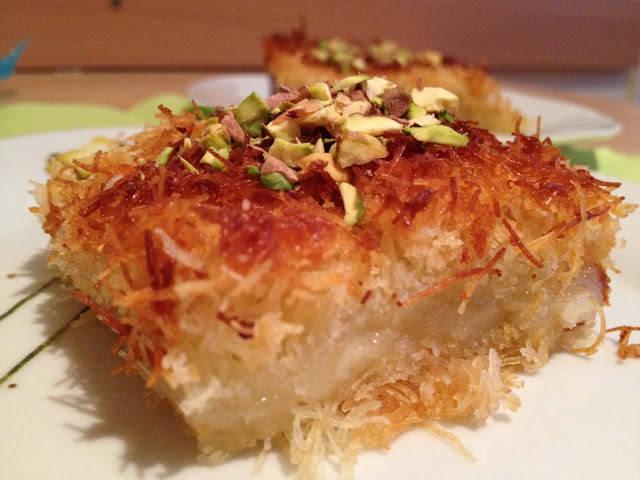 Künefe, török desszert recept főfotó