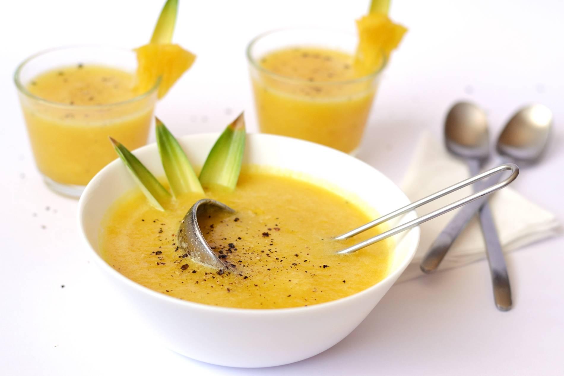 Hideg ananászleves recept főzés nélkül főfotó