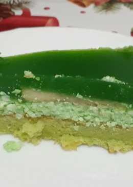 Zöld almás torta
