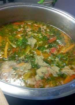 Olasz zöldségleves