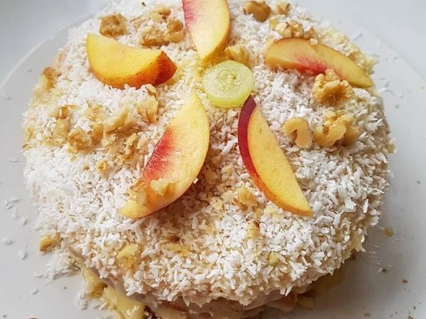 Kókuszos, vaníliás, mini torta :)