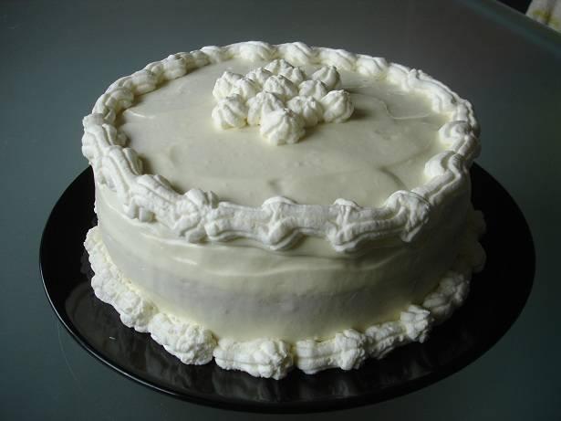 Fehércsokoládés-karamelles torta recept főfotó