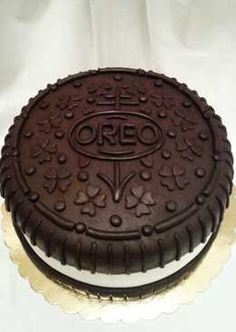 Oreo keksz forma torta..... Szó szerint. 😆