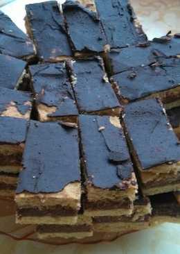 Böbe-féle puncsos sütemény