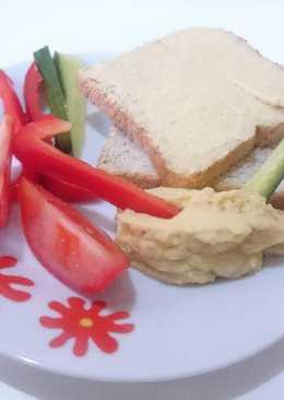 Hummusz (csicseriborsókrém) alaprecept