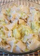 Cukkinis tészta (gluténmentes, vegán)