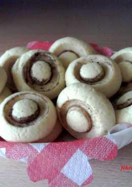 Gomba keksz (édes csiperke)