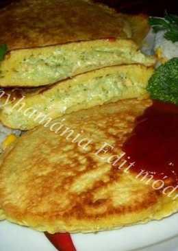 Medve sajtos brokkoli-fánk