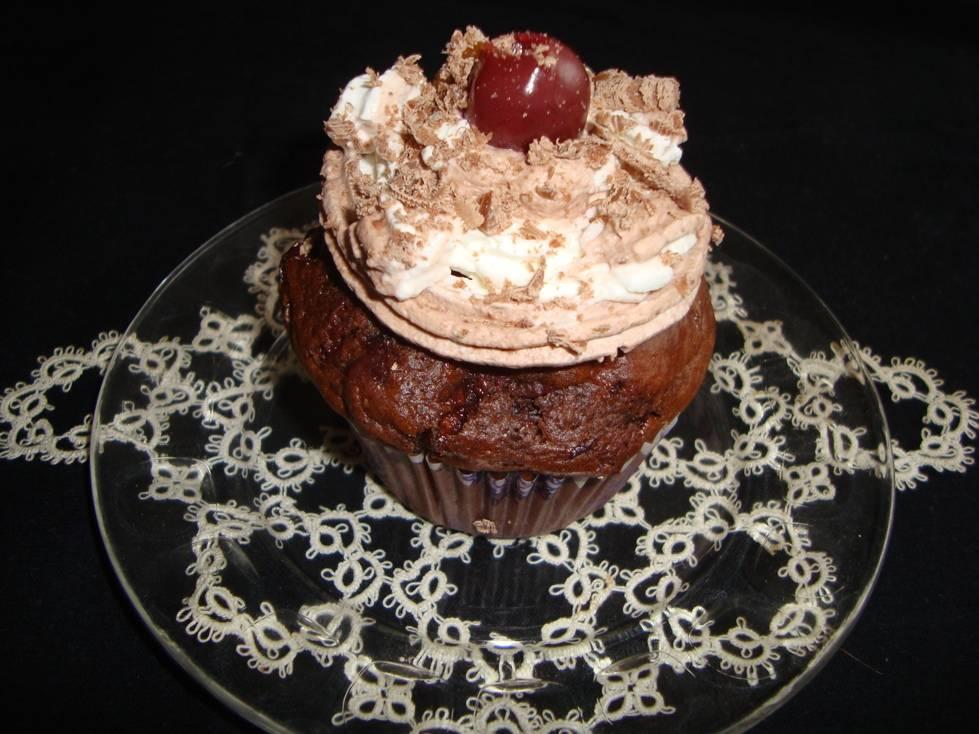Feketeerdő muffin recept főfotó