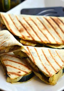 Grillezett zöldséges quesadilla