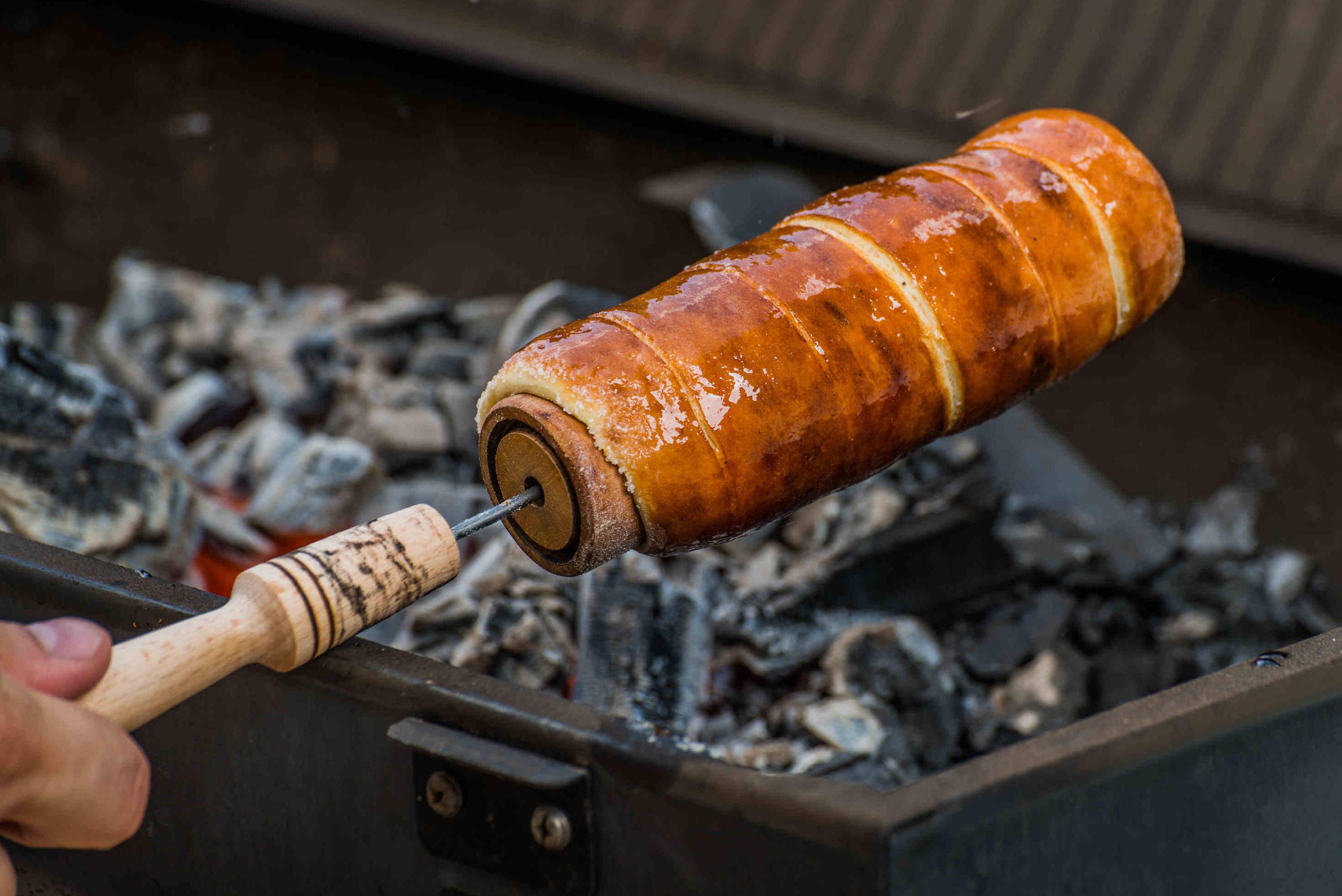 Házi kürtőskalács grillsütőn recept főfotó