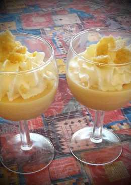 Tejszínhabos-citromos panna cotta