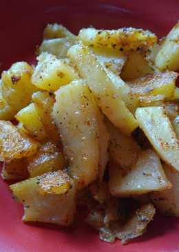 Fűszeres sült burgonya
