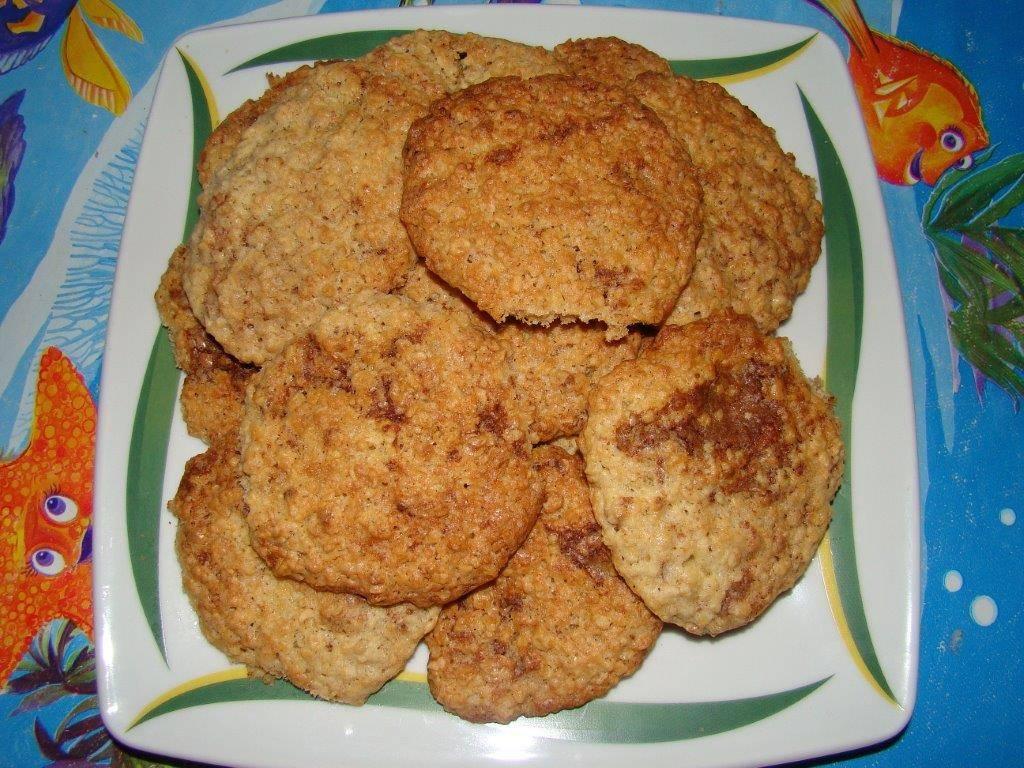 Zabpelyhes keksz recept (cookie) főfotó