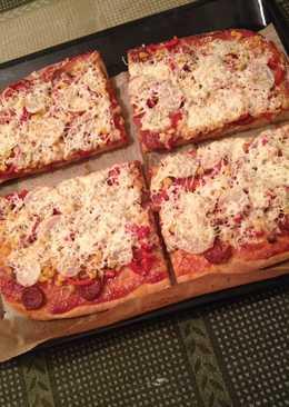 Pizza ahogy mi szeretjük