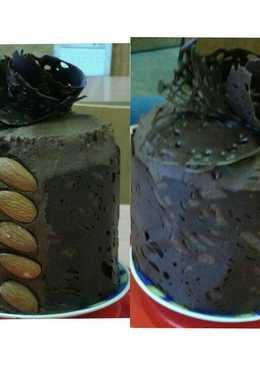 Csokoládés minitorta