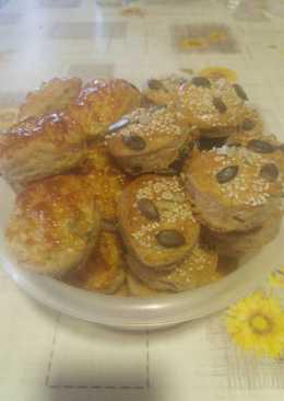 Pihe-puha, teljes kiörlésű pogácsa