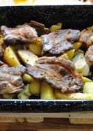 Családbarát tepsis hús