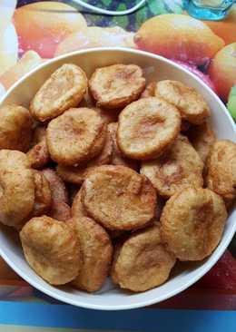 Olajban sült krumpli pogácsa