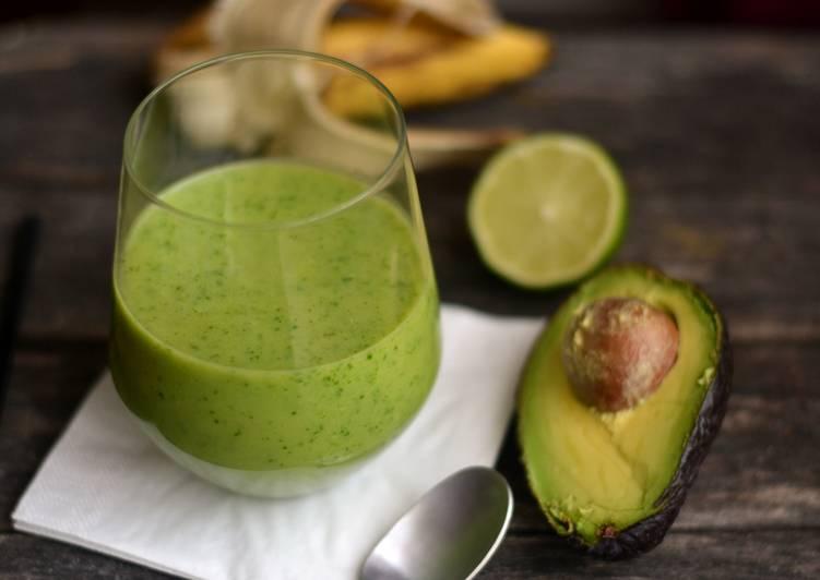Reggeli zöld smoothie
