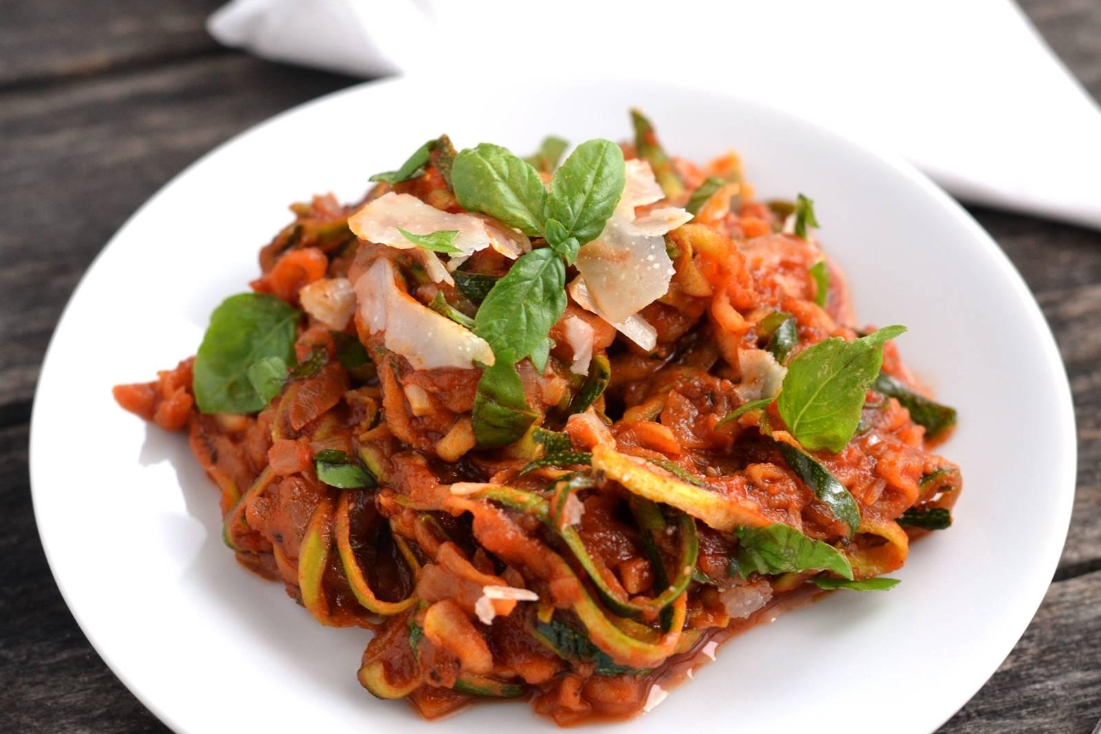 """Gluténmentes cukkini """"spagetti"""" recept főfotó"""