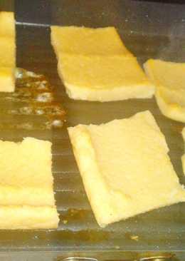 Grillezett Polenta, hús mellé
