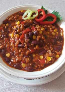 Gluténmentes Mexikói Chilis Bab