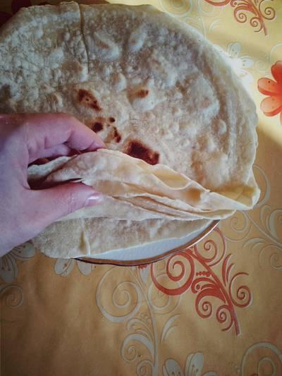 Házi tortilla