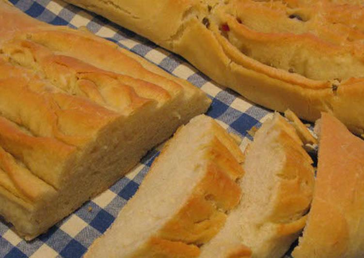Pan de Hojaldre – valenciai olívás kenyér