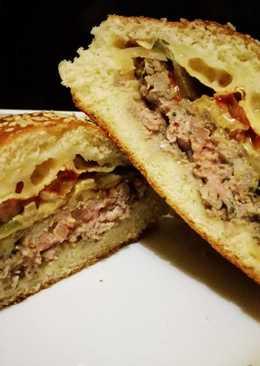 Töltött hamburger