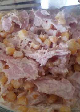 Tonhalas kukoricasaláta