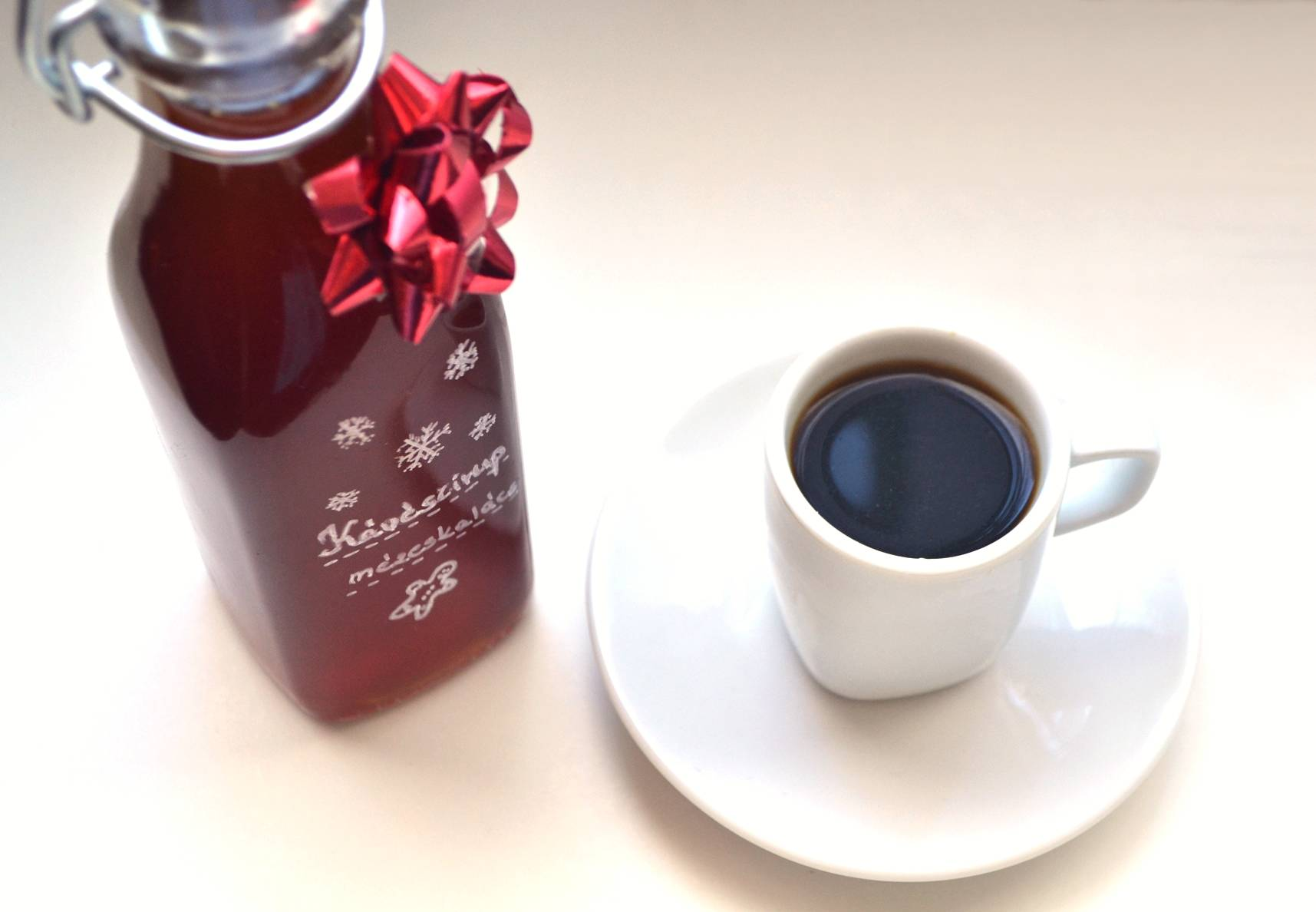 Mézeskalácsos kávészirup recept főfotó
