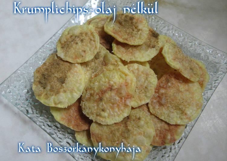 Krumplichips - olaj nélkül