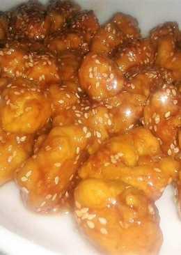 Kínai mézes, szezámmagos csirke