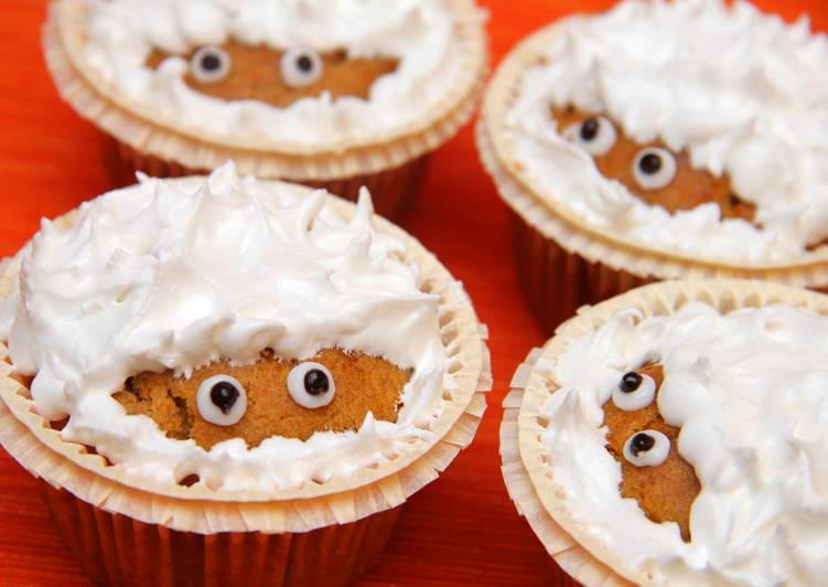 Halloween sütőtök muffin