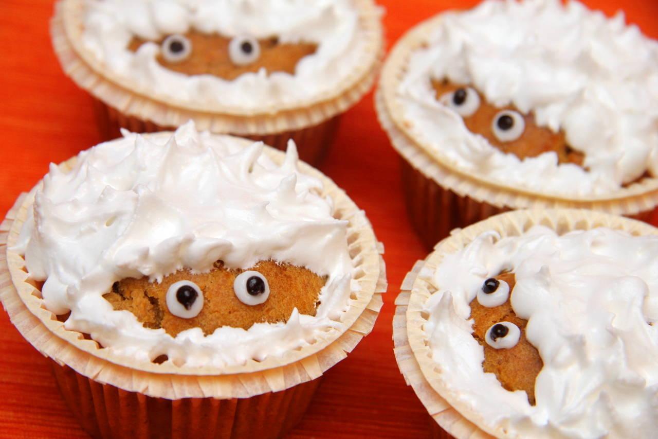 Halloween sütőtök muffin recept főfotó